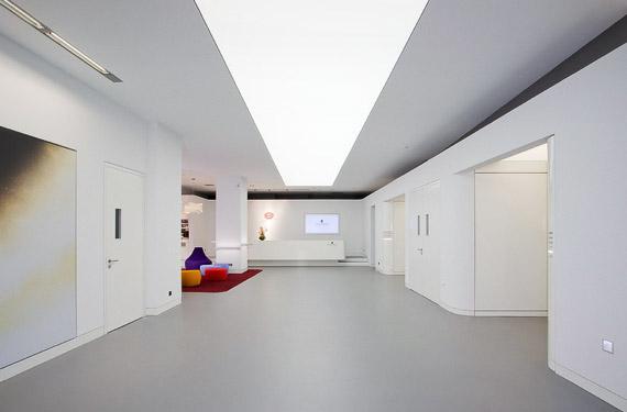 lichtdecken f rs headquarter schwarzkopf professional. Black Bedroom Furniture Sets. Home Design Ideas
